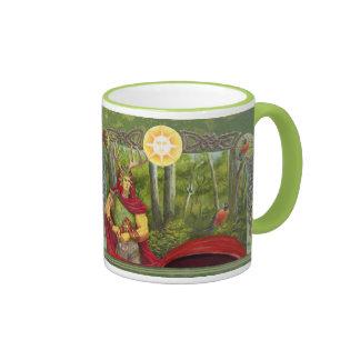 Oak King Ringer Mug