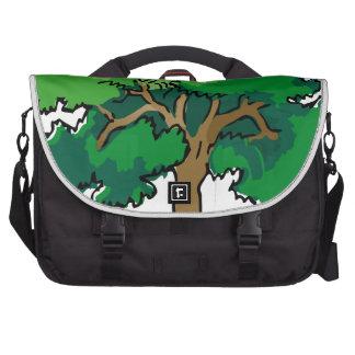 oak laptop computer bag