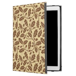 """Oak leaf acorn background iPad pro 12.9"""" case"""