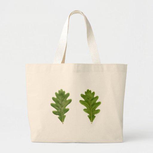 Oak leaf canvas bag