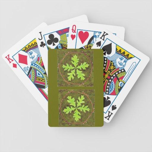 Oak Leaf Cards Bicycle Poker Deck