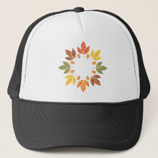 Oak Leaf Circle Trucker Hat