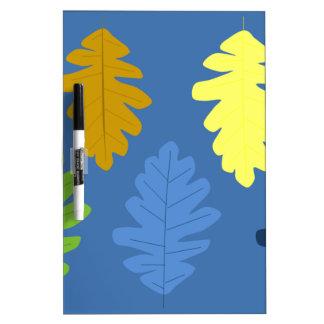 Oak Leaf Dry-Erase Board