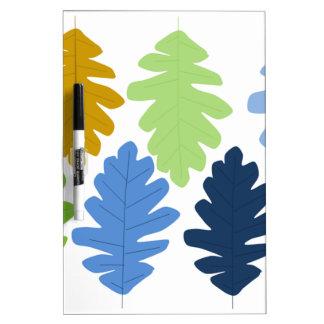 Oak Leaf Dry Erase Board