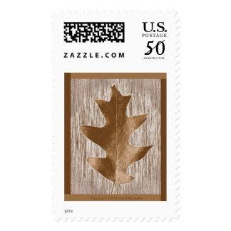 Oak Leaf Postage Stamp