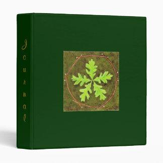 Oak Leaf Vinyl Binder