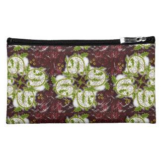 oak leaf whirly makeup bags
