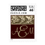 Oak Leaves Classic Postage Stamp
