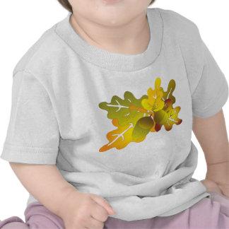 oak leaves tee shirt