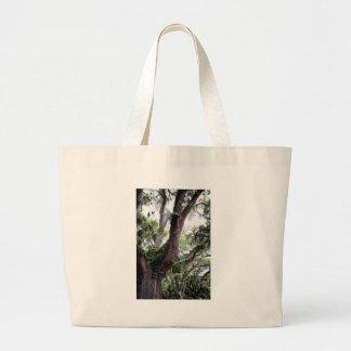 oak & mossGeorgia Live Oaks And Spanish Moss Large Tote Bag