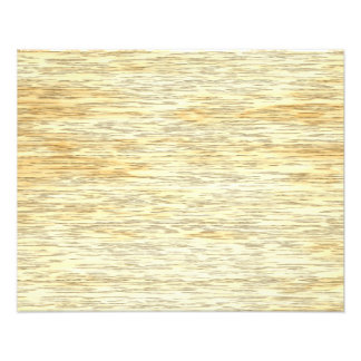 Oak or Pine Wood Texture Photo Print