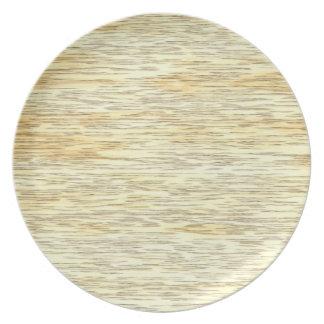 Oak or Pine Wood Texture Plate