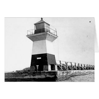 Oak Orchard Lighthouse Greeting Card