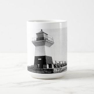 Oak Orchard Lighthouse Classic White Coffee Mug