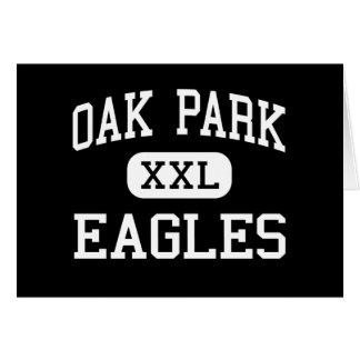 Oak Park - Eagles - altos - Oak Park California Felicitación