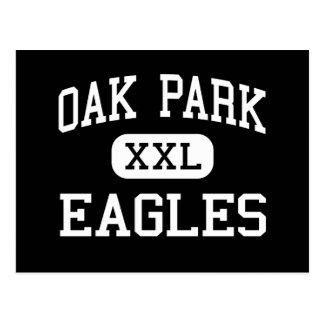 Oak Park - Eagles - altos - Oak Park California Postales