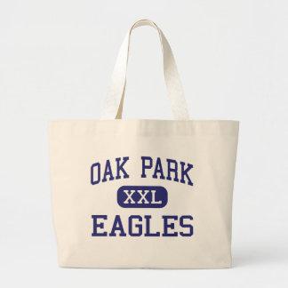 Oak Park Eagles Middle Lake Charles Large Tote Bag