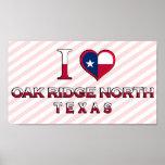 Oak Ridge North, Texas Print
