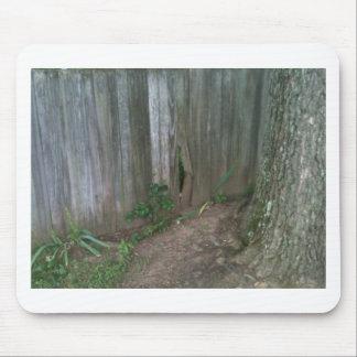 Oak Root vs. Fence Slat - Pick the winner! Mouse Pad