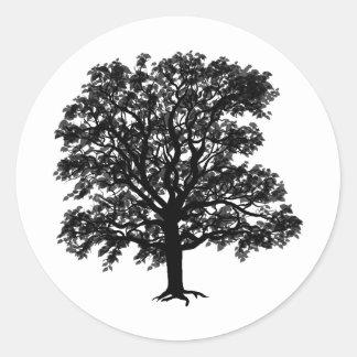 Oak Stickers