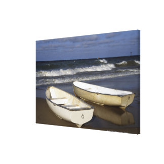 Oak Street Beach, Beach, Lakeshore, Lake Canvas Print