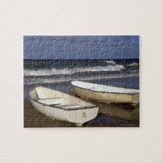Oak Street Beach, Beach, Lakeshore, Lake Jigsaw Puzzle
