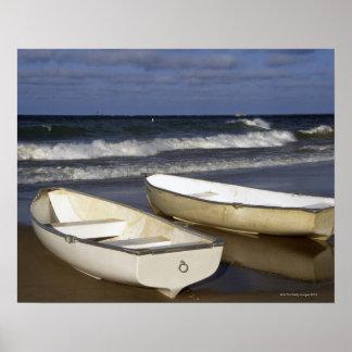Oak Street Beach, Beach, Lakeshore, Lake Poster