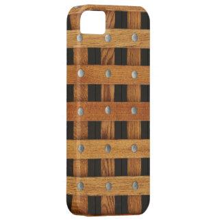 Oak Strips iPhone SE/5/5s Case