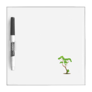 Oak tree abstract single graphic Dry-Erase board