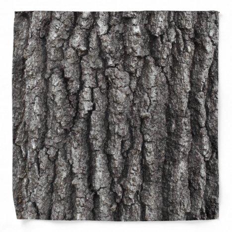 Oak Tree Bark Bandana