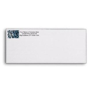 Oak tree bark blue tint background texture envelope