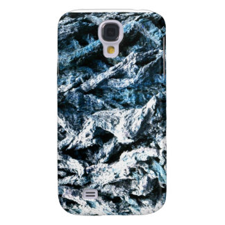 Oak tree bark blue tint background texture samsung galaxy s4 cover