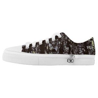 Oak Tree Bark Low-Top Sneakers