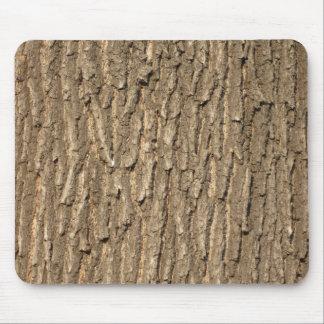 Oak tree bark mouse pad