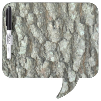 Oak Tree Bark Real Wood Camo Nature Camouflage Dry Erase Boards