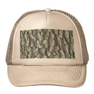 Oak Tree Bark Real Wood Camo Nature Camouflage Trucker Hat