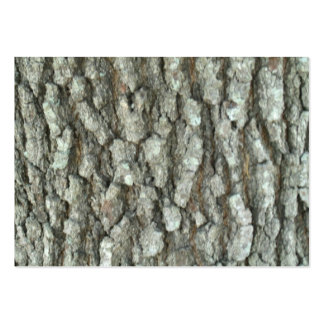 Oak Tree Bark Real Wood Camo Nature Camouflage Large Business Card