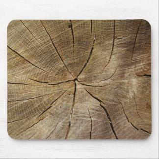 Oak Tree Cross Section Mouse Mat