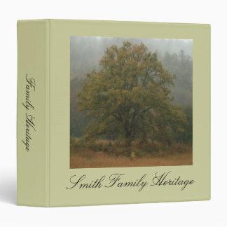 Oak Tree Family Heritage Binder