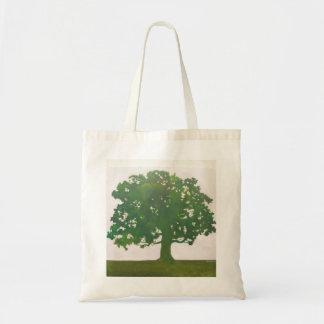 Oak tree in Spring Budget Tote Bag