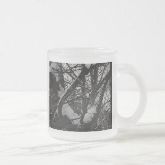 Oak Tree in the Winter 10 Oz Frosted Glass Coffee Mug