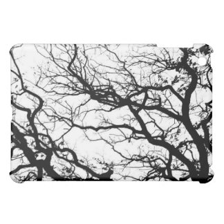 Oak Tree Landscape iPad Mini Case Black and White