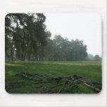 Oak Tree Line Mouse Pad
