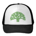 Oak tree Oakland green Hat