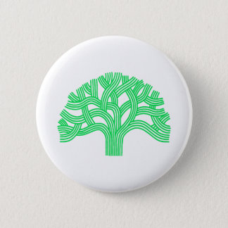 Oak tree Oakland lime Pinback Button
