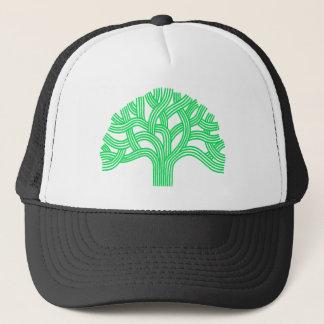 Oak tree Oakland lime Trucker Hat
