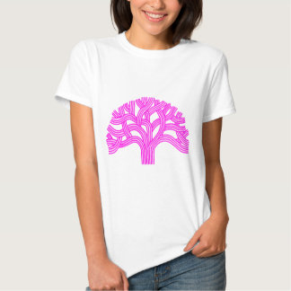 Oak tree Oakland pink T Shirts
