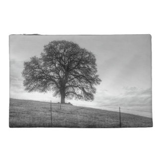 Oak Tree On A Hill Travel Accessory Bags