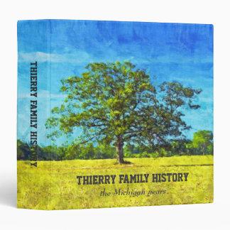 "Oak Tree Painting 1.5"" Family History Binder"
