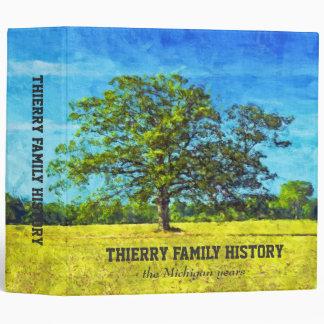 "Oak Tree Painting 2"" Family History Binder"